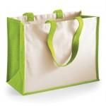 Large Jute/Canvas Mix Bags