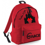 Personalised Castle Back Pack