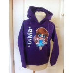 Printed Character Hoodie - Little Miss Characters (Designed by Customized By Laura)