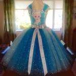 Deluxe Full Length Elsa Dress