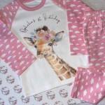Girls Safari Animal PJ's