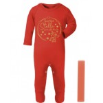 Baby Santa's on his way Romper
