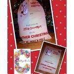 Large Traditional Christmas Sack