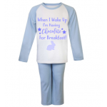 When I Wake Up.... kids Easter PJ's