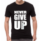 Adult 'Never Give Up' Tshirt
