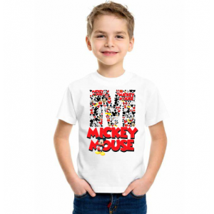 Kids Mickey 'M' Tshirt
