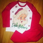 Kids Traditional Santa PJ's