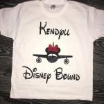 Baby Disney Bound Tshirt