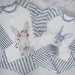 Grey Bunny PJ's
