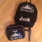 Personalised Kids FORTNITE Lunch Bag
