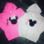Toddler Minnie/Mickey Hoodie