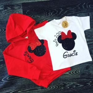 Adult Minnie/Mickey Hoodie