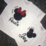 Adult Minnie/Mickey Tshirt