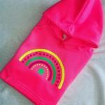 Kids Neon Rainbow Hoodie