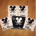 Adult Minnie/Mickey Pirate Tshirt