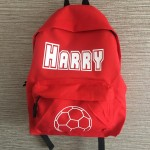 Boys Personalised Junior Back Pack
