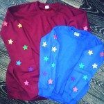 Kids Star Sleeved Jumper